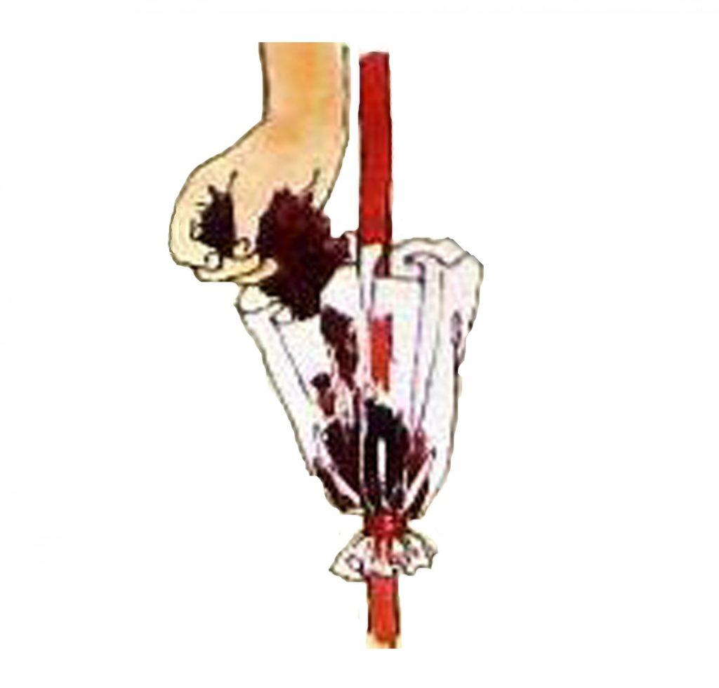 Проверка состояния мха и среза на стволе