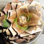 Загнивание розетки ананаса