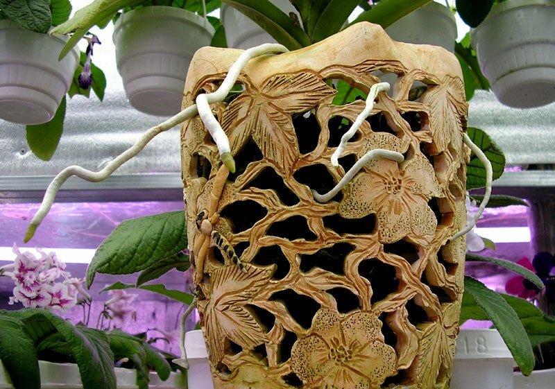 Горшок для орхидей