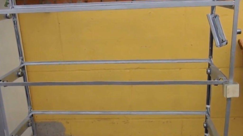 Каркас металлического шкафа