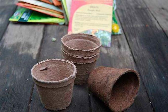 Торфяные стаканчики для рассады