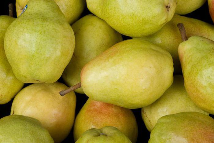 Плоды груши Велеса