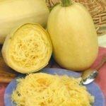 Кабачки сорта Спагетти