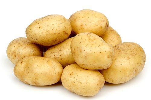 Клубни картофеля Удача