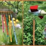 Самоделки для отпугивания птиц