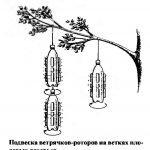 вертушка от птиц из бутылки