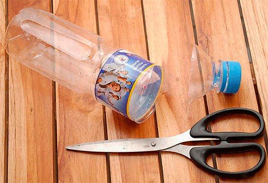 Изготовление ловушки из бутылки