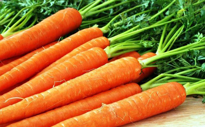 Некрупная морковь