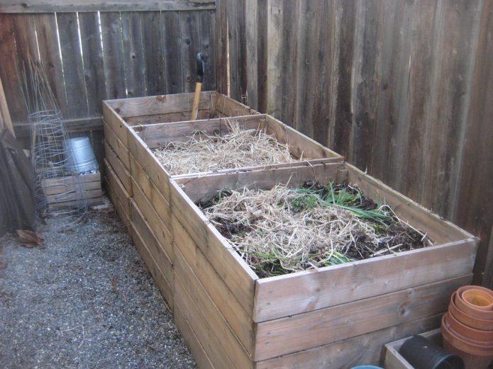 Приготовление компоста