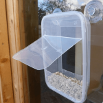 Кормушка из пластикового контейнера