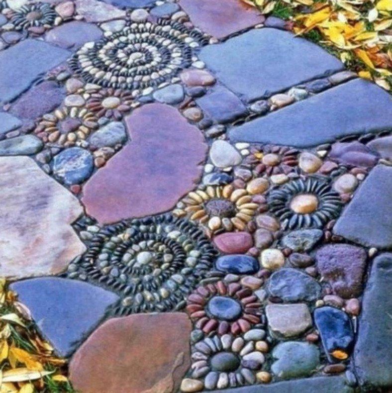 Дорожка-мозаика