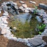 Классический искусственный водоем