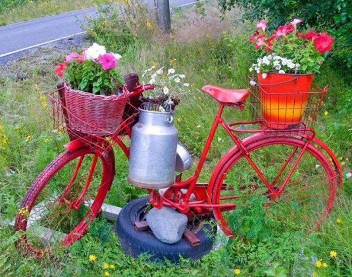 Велосипед на крестовине