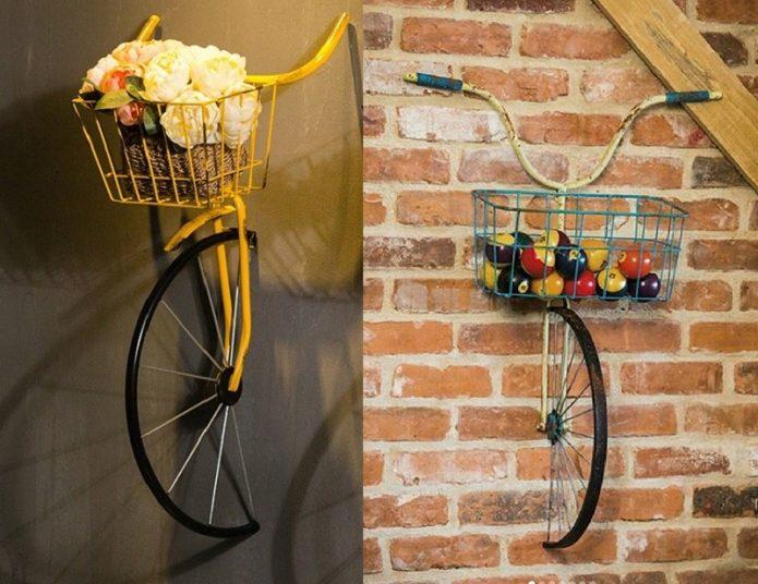 Велосипед-органайзер
