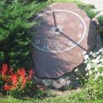 Часы на камне