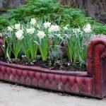 Цветник на диване