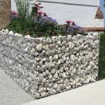 Камни в сетке