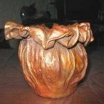 Блестящая ваза