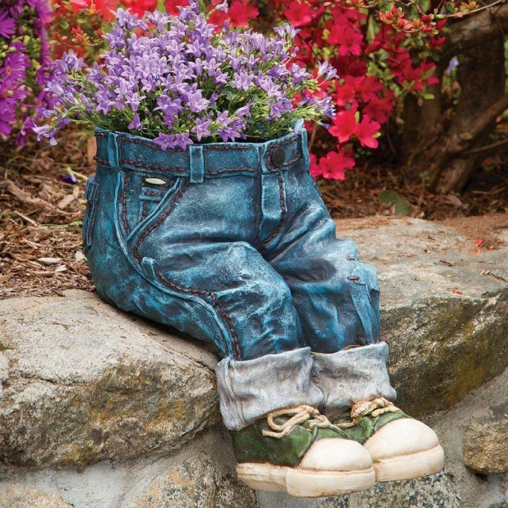 Ваза-джинсы