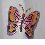 Бабочка из бутылочного пластика