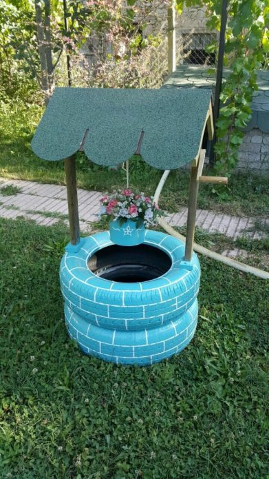Голубой колодец