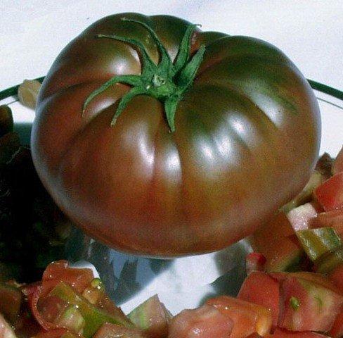 Плод томата Чёрный барон
