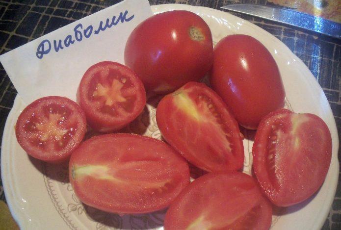 Сорт томатов Диаболик