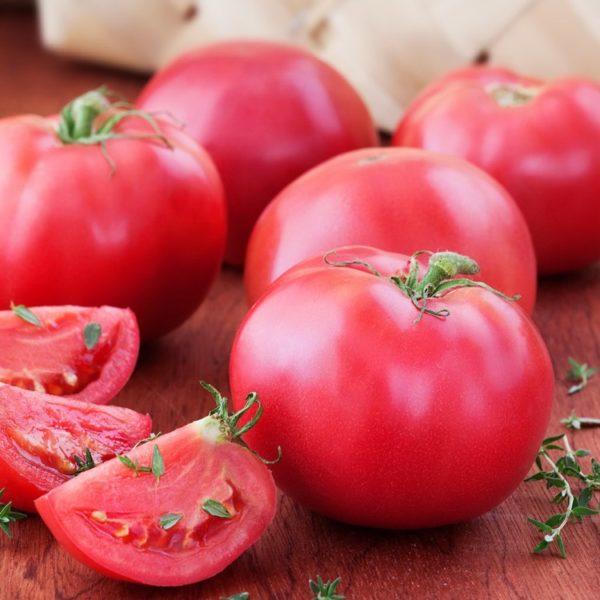Плоды томата Малиновый звон