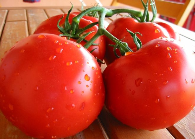 Плоды томата Полбиг