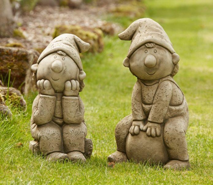 Фигуры гномов для сада