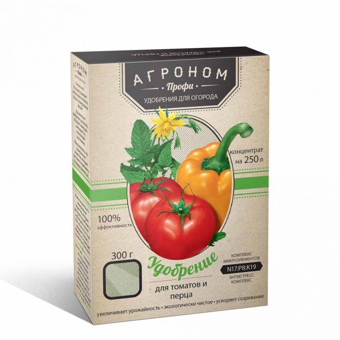 Комплексное удобрение для перцев