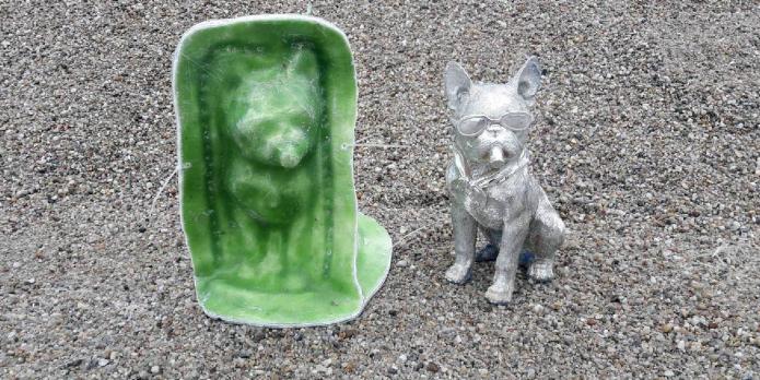 Форма для изготовления фигуры собачки
