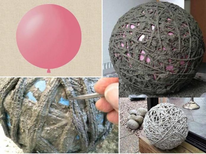 Этапы создания воздушного шара