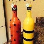Пчёлки из бутылок