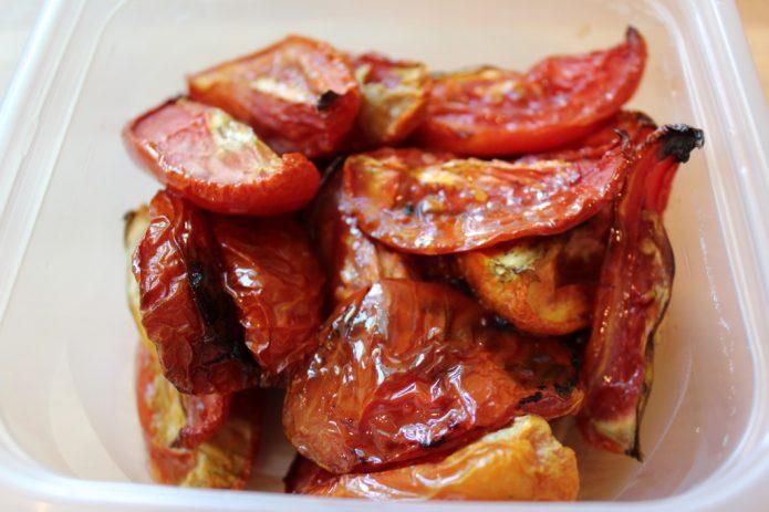 Жареные томаты Рома