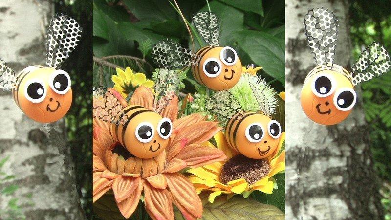 Поделка улей с пчелами своими руками