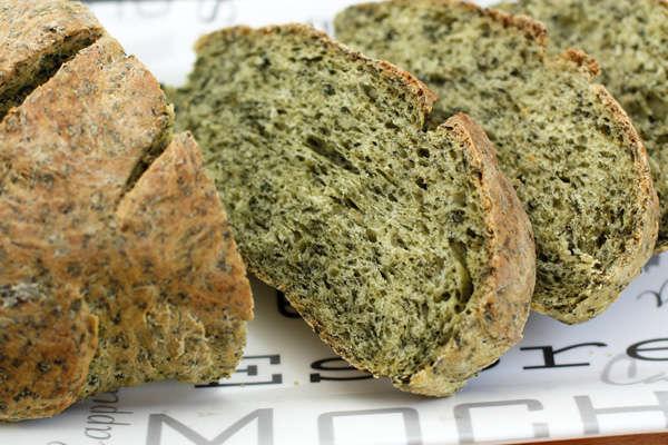 Шпинатный хлеб