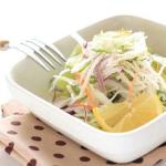 Салат из дайкона с лимоном