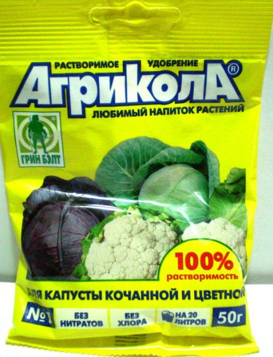 Удобрение для капусты