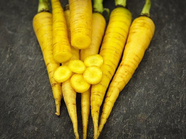 Морковь Карамель жёлтая