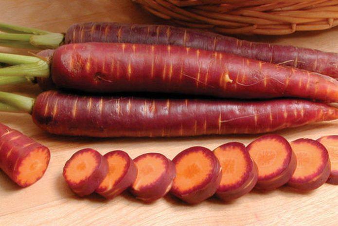 Морковь Фиолетовая карамель