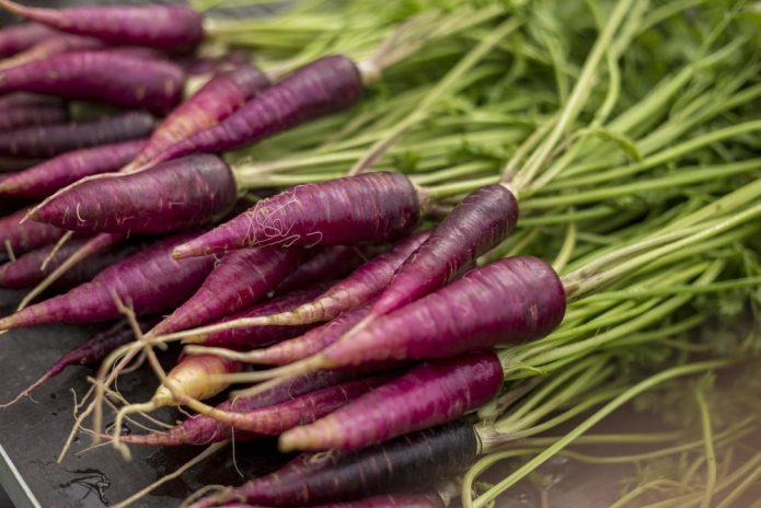 Морковь Фиолетовая королева