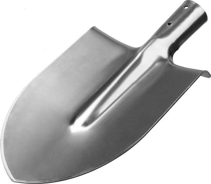 Лопата из нержавейки