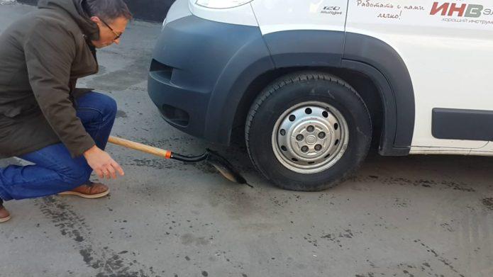 Испытание лопаты