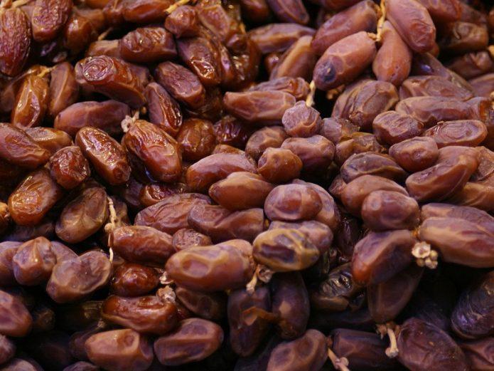Сушёные плоды финиковой пальмы