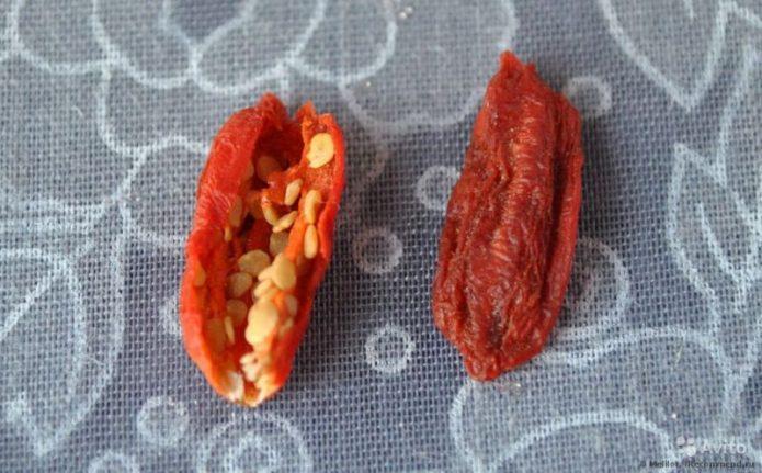 Семена годжи из ягод