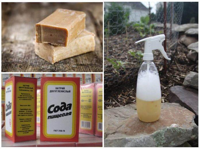Сода и хозяйственное мыло