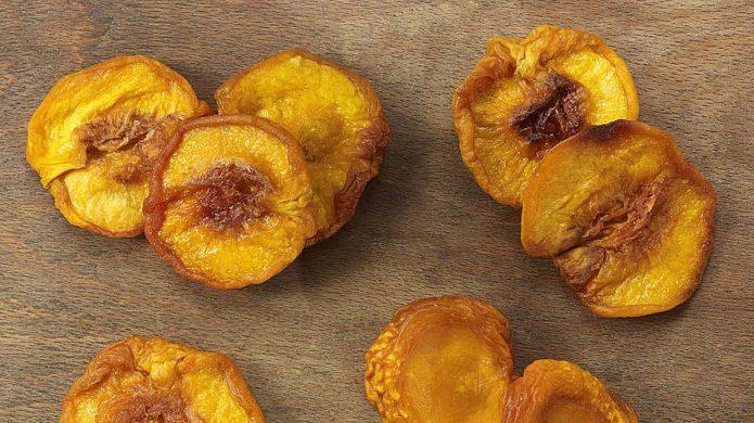 Сушёные персики