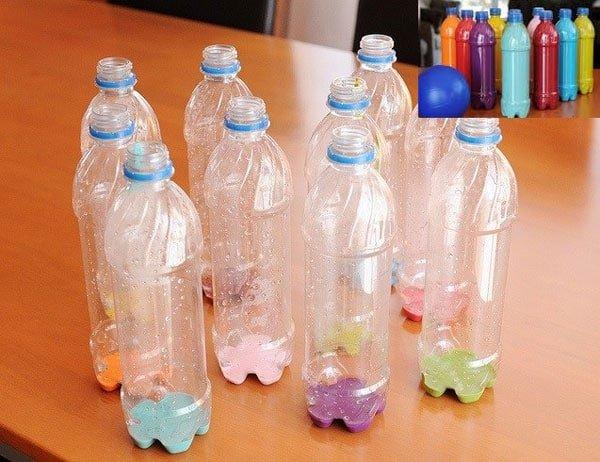 Окрашивание пластиковых бутылок