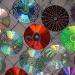 Разные украшения из дисков